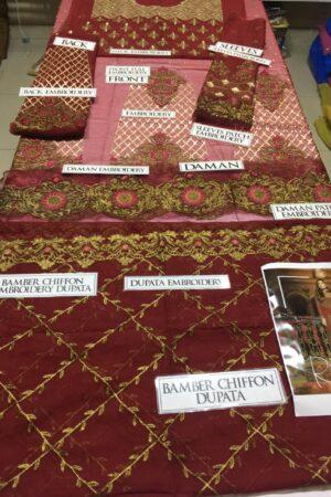 Embroyal Bamber Chiffon Master Replica