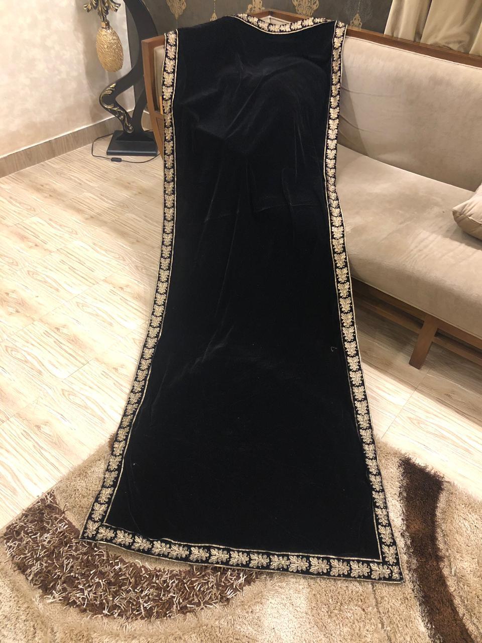 Designer Velvet Shawl Master Replica 2019 Master Replica Pakistan