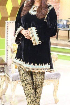 SANA ABBAS Velvet Master Replica 2019