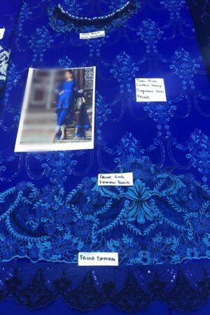 ZAINAB CHOTTANI Chiffon Master Replica 2019