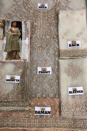 AISHA IMRAN Net Bridal Dress
