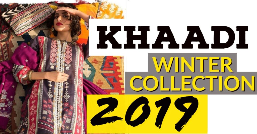 Khaadi winter collection
