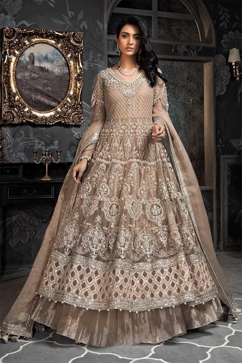 Fashionable MARIA B Bridal Net Collection Master Replica 20