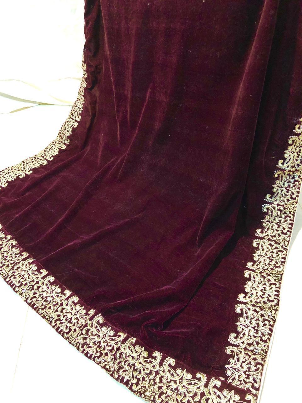 Latest Designer Velvet Shawl Collection Master Replica 2020 Master Replica Pakistan
