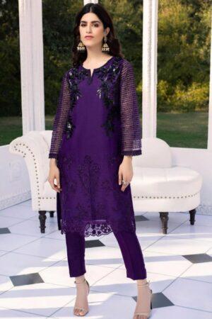 azure purple kurti