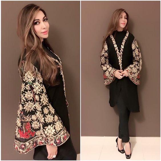 black party dress pakistani