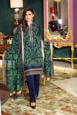 gul ahmed green suit