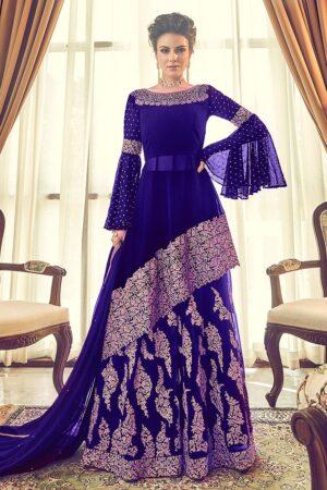 INDIAN Chiffon Bridal Dress