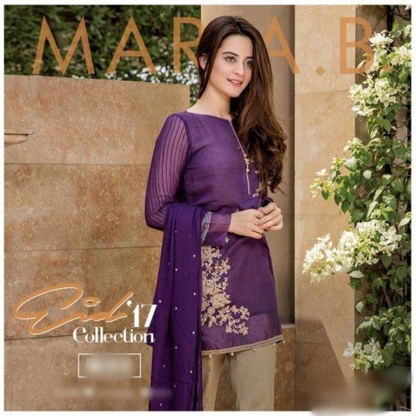 MARIA B Chiffon Eid Collection