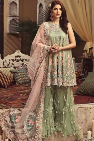 Serene chiffon bridal collection