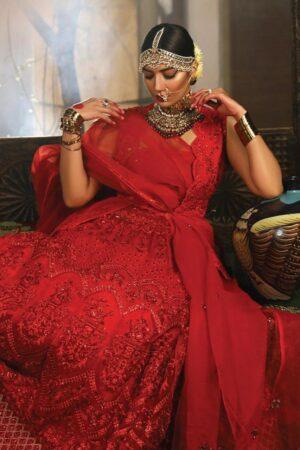pakistani red bridal dresses