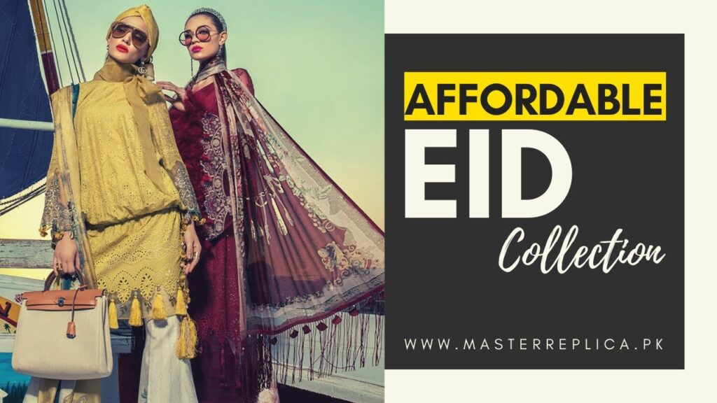 Affordable Pakistani Eid Dresses 2020