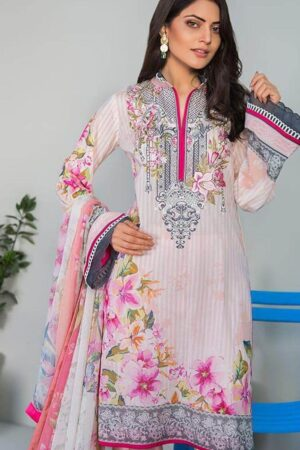 Bareeze Lawn Embroidered