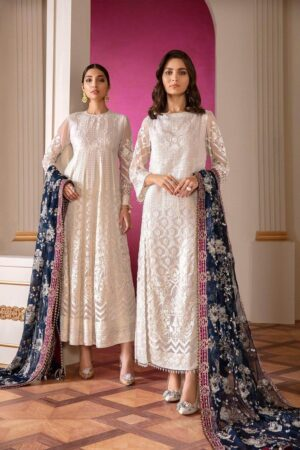 baroque white dress