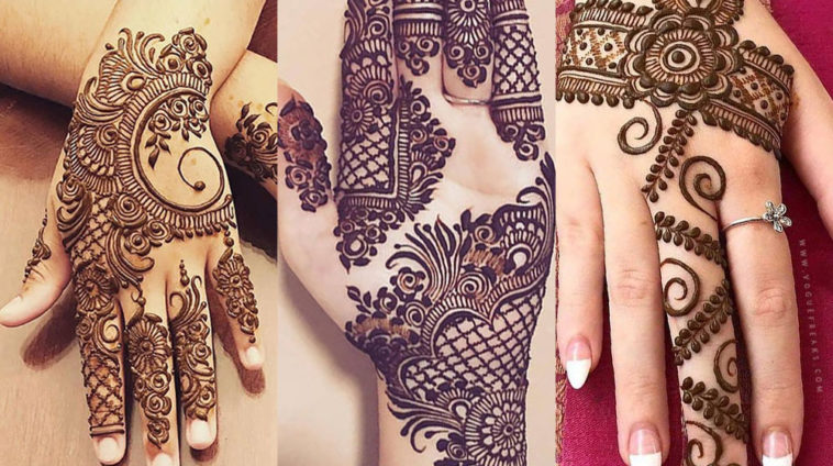 Beautiful Mehndi Designs for Eid Master Replica Pakistan