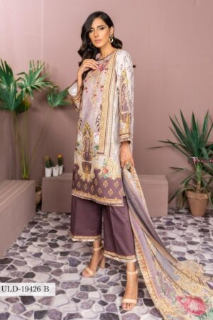 Firdous Lawn Embroidered