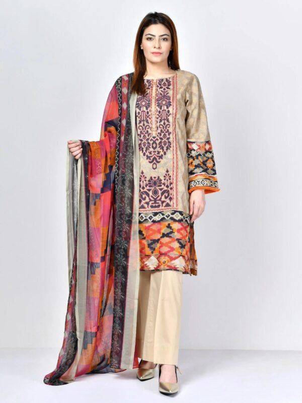 limelight printed lawn suit