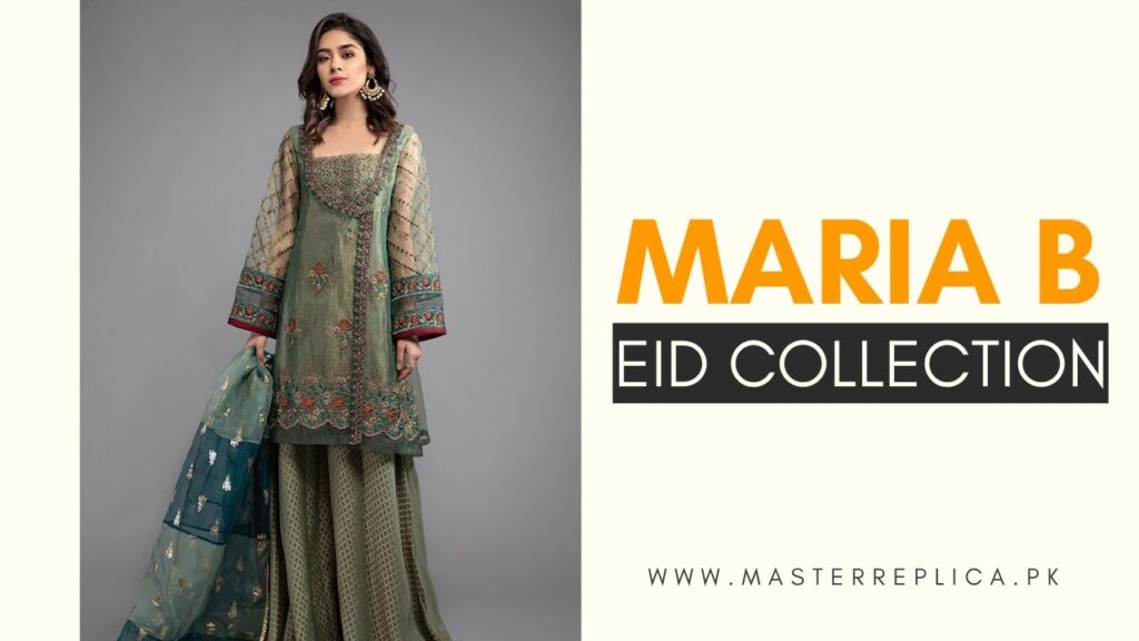 Maria B Eid Collection by Master Replica Pakistan