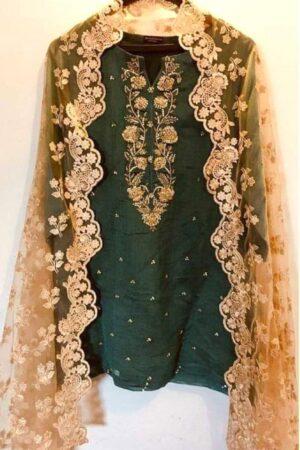agha noor 3 piece suit