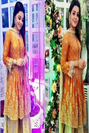 agha noor party wear