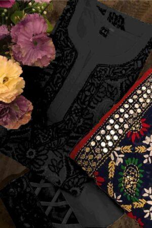 agha noor black dress