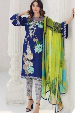charizma blue dress