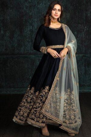 black indian maxi dress