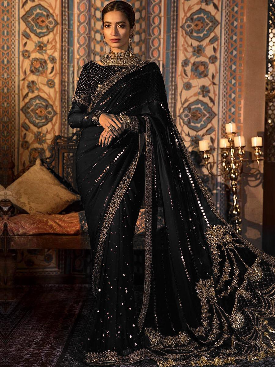MARIA B Chiffon Saree Collection 2020 – Master Replica