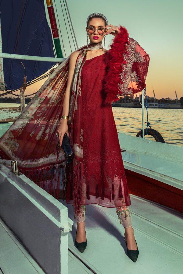 MARIA B Lawn Dress