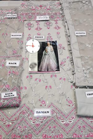 NOMI ANSARI Net Wedding Suit