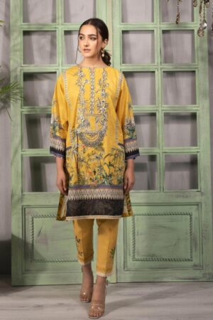 sapphire yellow dress