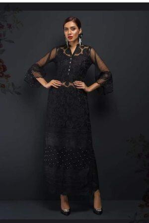 zainab chottani black dress