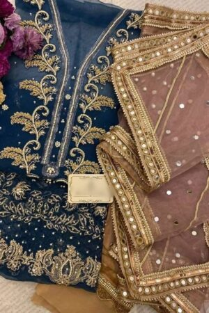 Embroidered Organza Collection 2020