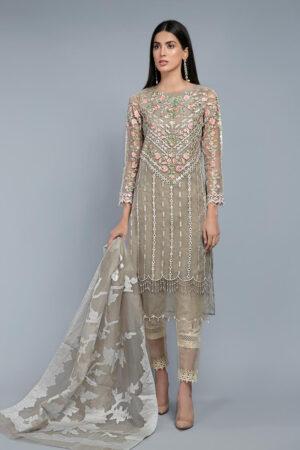 MARIA B Organza Dress