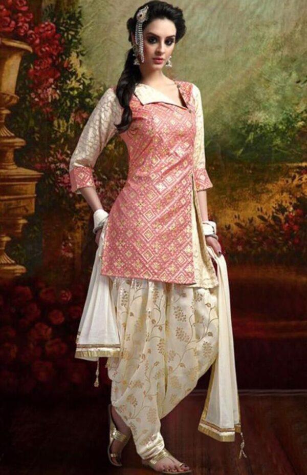 MARIA B Cotton Suit