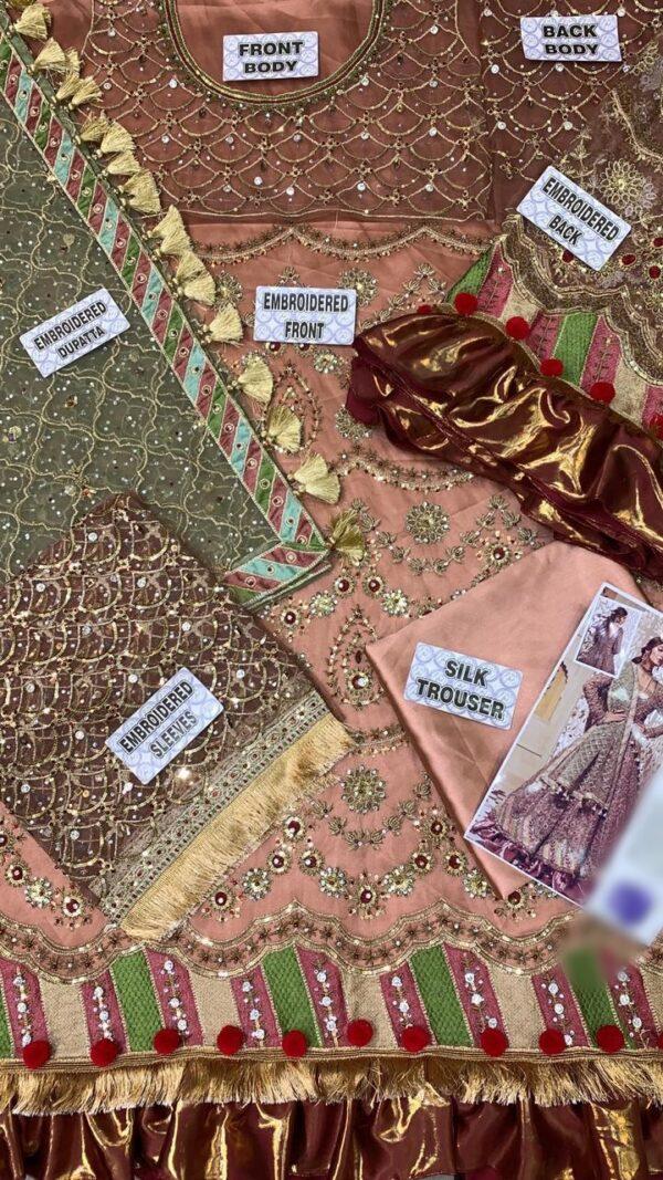 MARIA B Net Bridal Suit